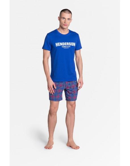 Henderson Piżama Lid 38874-55X Niebieska