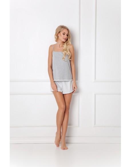 Aruelle Piżama Adelide Short Grey