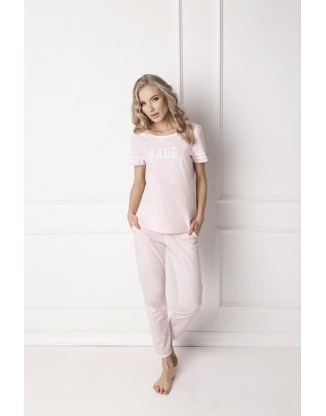 Aruelle Piżama Babe Long Pink