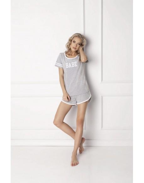 Aruelle Piżama Babe Short Grey