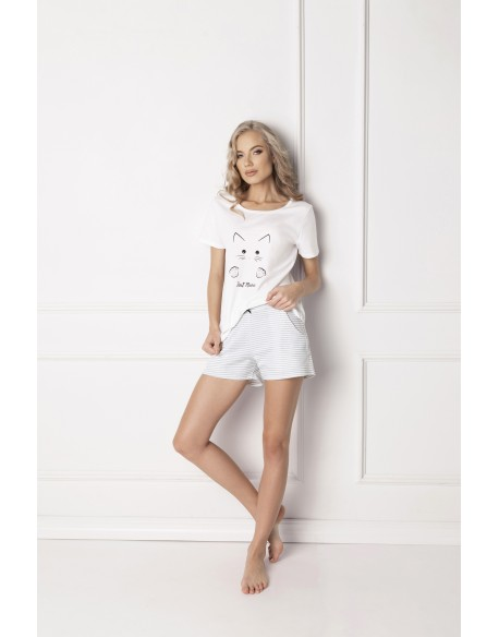 Aruelle Piżama Catwoman Short White